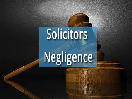 solicitors negligence